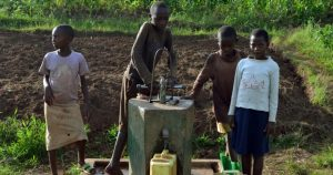 Groenbalans CO2-compensatieproject Waterputten in Rwanda