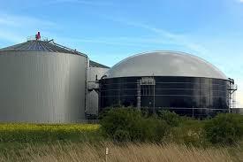 Groen gas uit biogas door vergisting