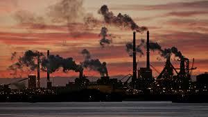 CO-2uitstoot van fabriek
