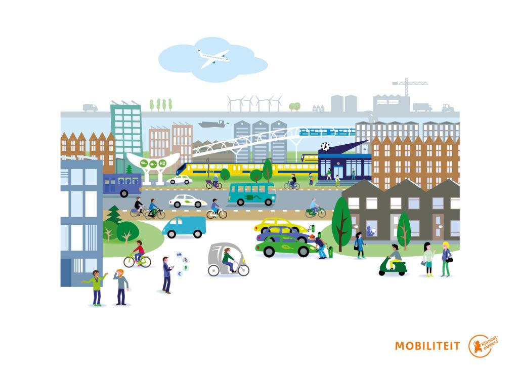 Visie duurzame en flexibele mobiliteit klimaatakkoord