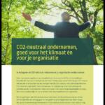 Groenbalans white paper CO2-neutraal ondernemen